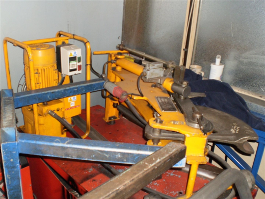 HYDRAULIC ROTARY ANGLIA POWER BEND TUBE BENDER ...