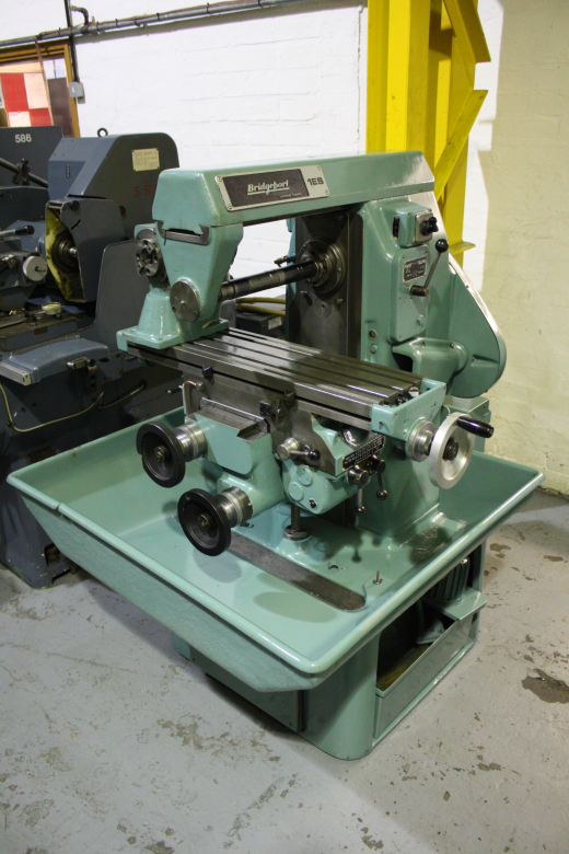 Bridgeport 1ES Horizontal Milling Machine for sale ...