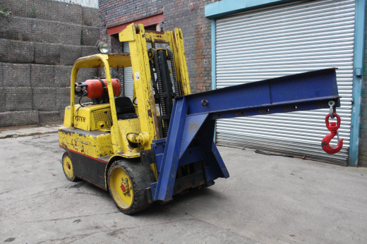hyster s150 lpg 15 000 lb forklift truck for sale machinery. Black Bedroom Furniture Sets. Home Design Ideas