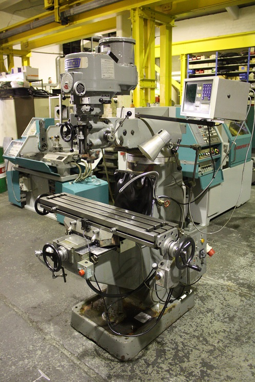 Semco Model LC-1.5 VS Turret Milling Machine for sale ...