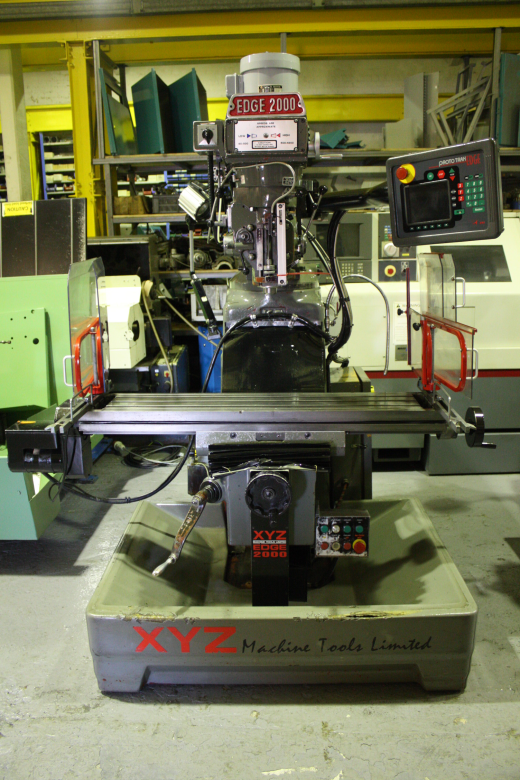 XYZ Edge 2000 CNC Milling Machine for sale : Machinery-Locator.com