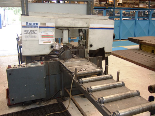 Bauer model SA 320 ZA Auto Horizontal Bandsaw for sale ...