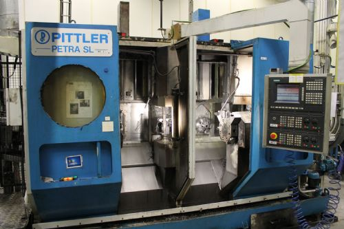 Pittler Petra Sl 2 Spindle Cnc Lathe For Sale Machinery