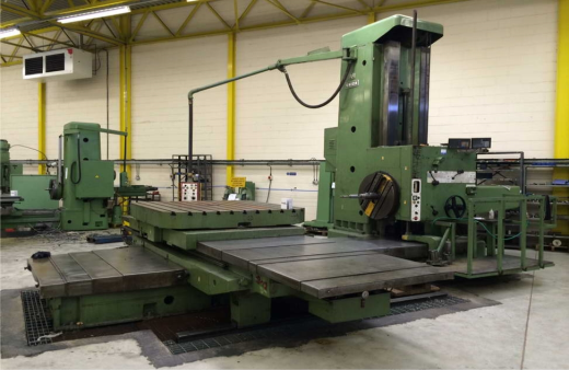 ... Boring/Facing Machine, 125mm Spindle for sale : Machinery-Locator.com