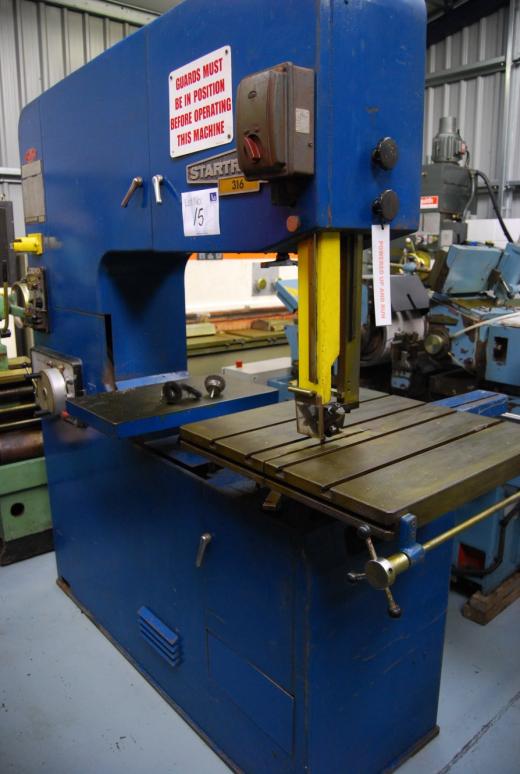 STARTRITE 316 Vertical Bandsaw for sale : Machinery ...