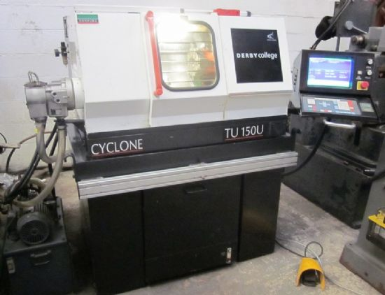 DENFORD Cyclone TU150 CNC Lathe for sale : Machinery-Locator.com
