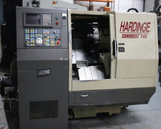 Hardinge Conquest T42 Cnc Lathe For Sale Machinery