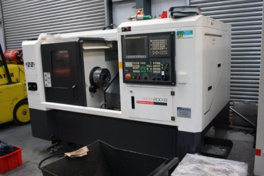 Hwacheon Hi Tech 200b Cnc Lathe For Sale Machinery