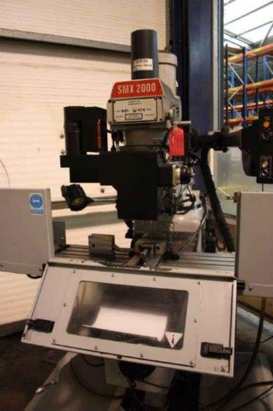 Xyz Smx 2000 Bed Milling Machine For Sale Machinery