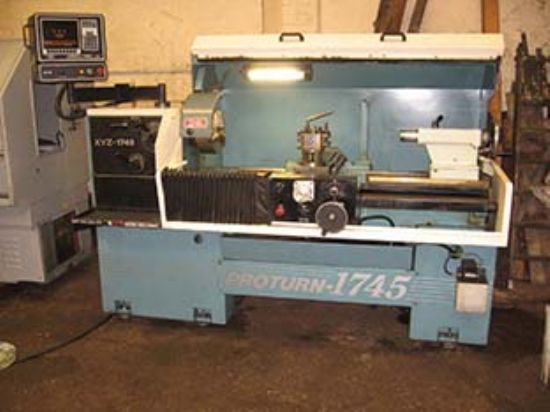 XYZ Proturn 1745 CNC Lathe for sale : Machinery-Locator.com