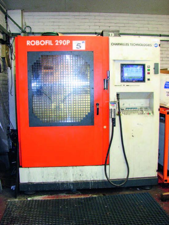 ... Robofil Model 290 P Wire EDM Machine for sale : Machinery-Locator.com