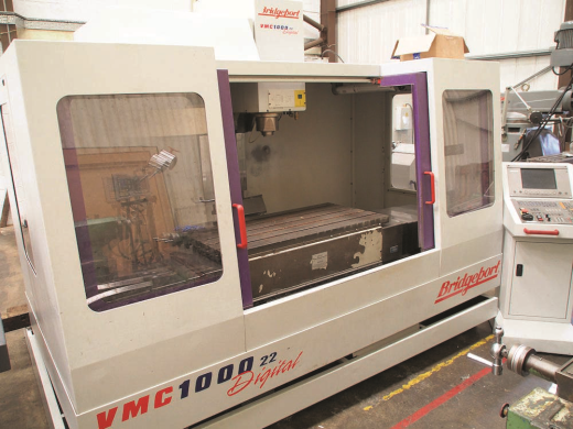 BRIDGEPORT VMC1000/22 Vertical Machining Centre (2000) for sale : Machinery-Locator.com