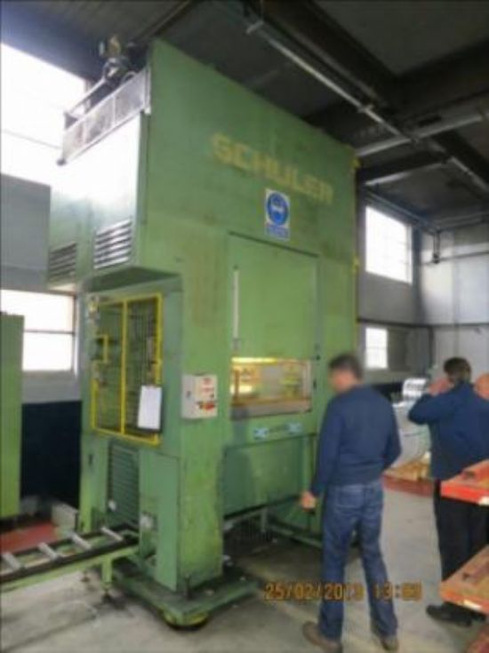 Schuler 125 ton blanking press for sale : Machinery ...