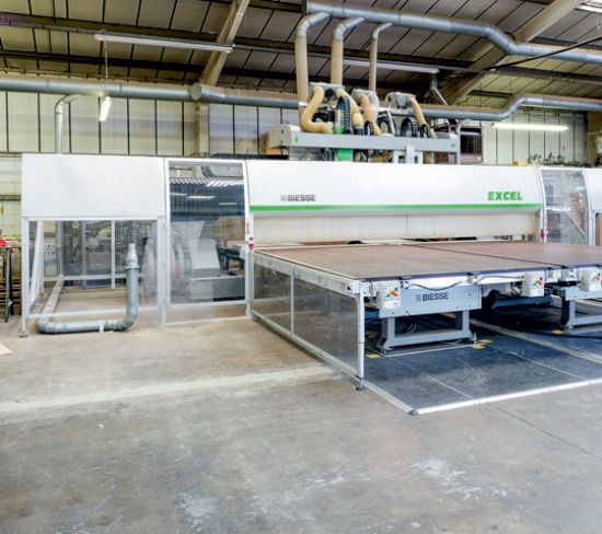 BIESSE Model Excel New 5 Axis CNC Processing Centre / Routing & Boring ...