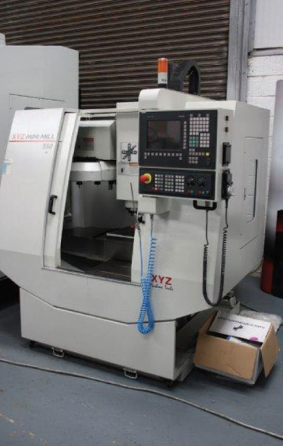 Xyz Vmc 560 Mini Mill For Sale Machinery Locator Com