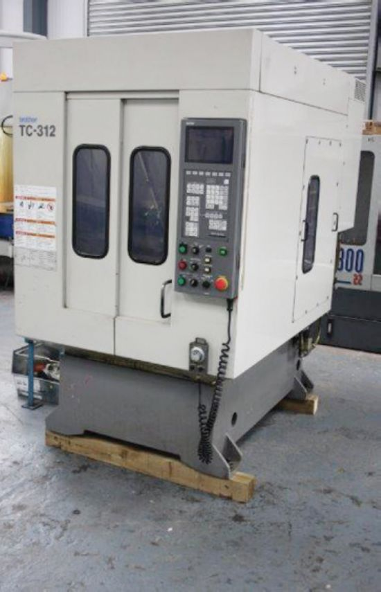 BROTHER TC 312 Twin Pallet Drill Tap Centre for sale ...