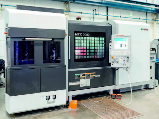 DMG Mori Seiki (Delivered New 2014) Model NTX 2000/1500S ...