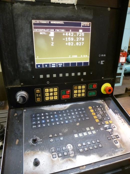 ... Model SXB 523 CNC Milling Machine for sale : Machinery-Locator.com