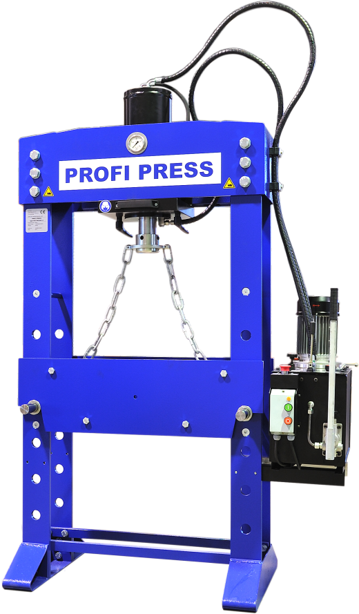 New European Built Hydraulic Garage Press For Sale