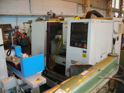 1998, s/n 721691, Heidenhain 370 control, Nikken 4th axis, table 840 x 360mm, trav 500 x 340 x 520mm
