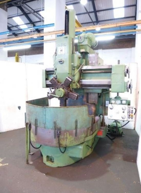 Webster Bennett 36 Ev Vertical Turret Lathe For Sale