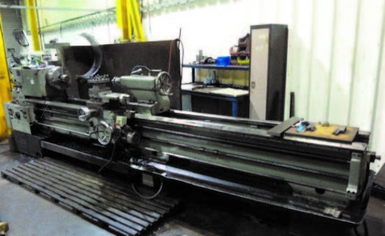 TOS SN63C 3m Centre Lathe for sale : Machinery-Locator.com