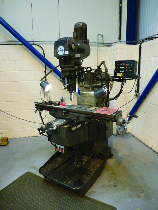 Ajax AJT Turret Mill for sale : Machinery-Locator.com
