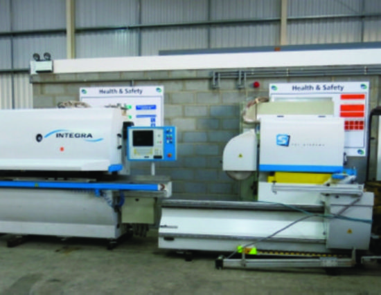 ... TWIN CNC WINDOW MANUFACTURING LINE for sale : Machinery-Locator.com