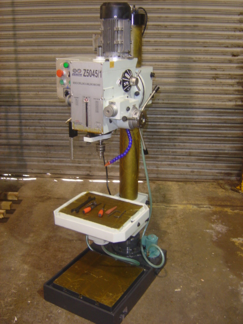 ZENITH Z5045/1 GEARED HEAD PEDESTAL DRILL for sale : Machinery-Locator ...