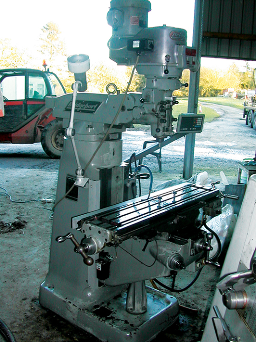 BRIDGEPORT Series 1 2hp Turret Mill for sale : Machinery ...