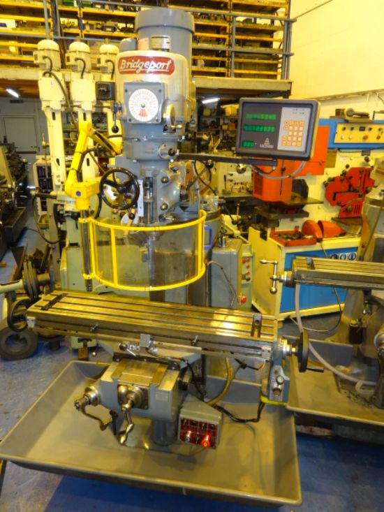 BRIDGEPORT BR2J Turret Mill for sale : Machinery-Locator.com