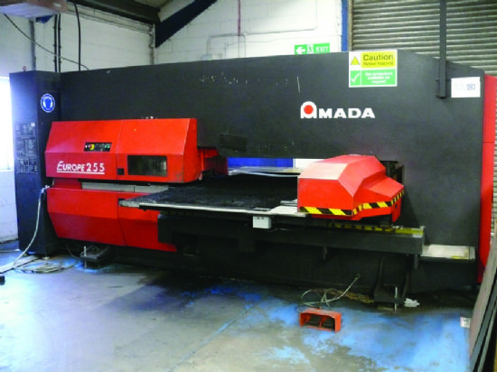 Amada Europe 255 turret punch press (2003) for sale ...