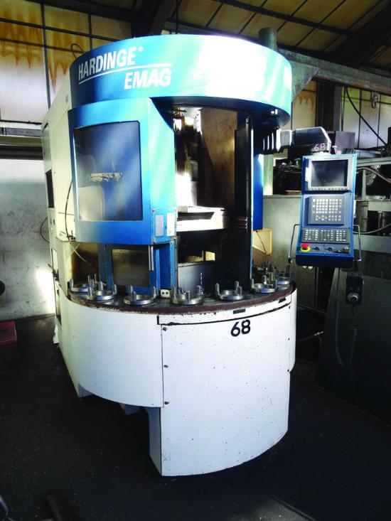 EMAG Hardinge VL3 CNC vertical turning centre for sale ...