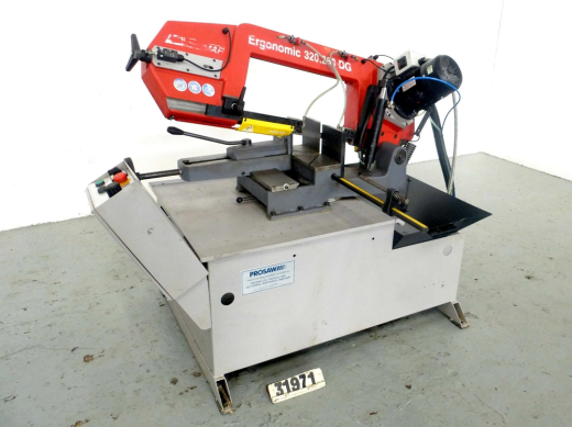 Swivel Frame Horizontal Bandsaw, Rounds 250mm or ...