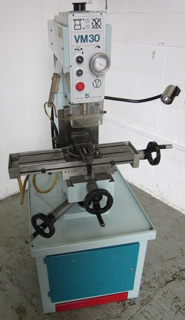 Boxford VM 30 Milling Machine for sale : Machinery-Locator.com