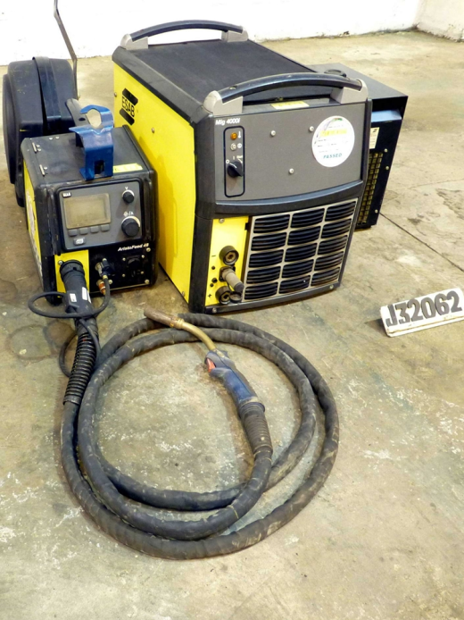 400 amp Mig Welder with ESAB Aristofeed 48 Wire Feed Unit ...