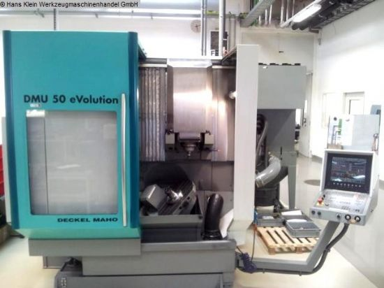 DECKEL-MAHO DMU 50 eVolution 5-axis Machining Centre for ...