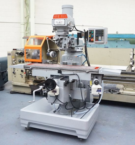 XYZ SLV 3000 Turret Milling Machine for sale : Machinery ...