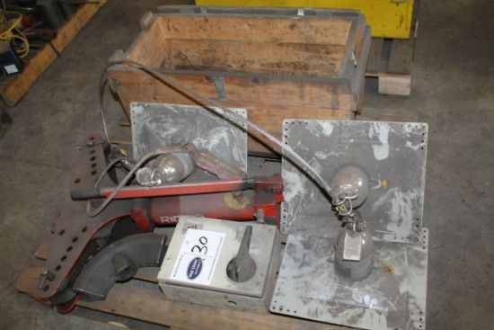 PALLET LOT TO INC. PIPE BENDER, 3No. CONSTANT FORCE POST FALL ARREST ...