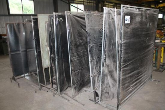 APPROX 20No. WELDING SCREENS for sale : Machinery-Locator.com