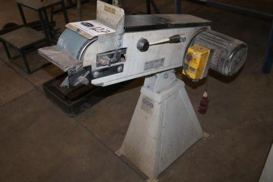 MMS BG1502A 3 PHASE METAL BELT GRINDER for sale ...
