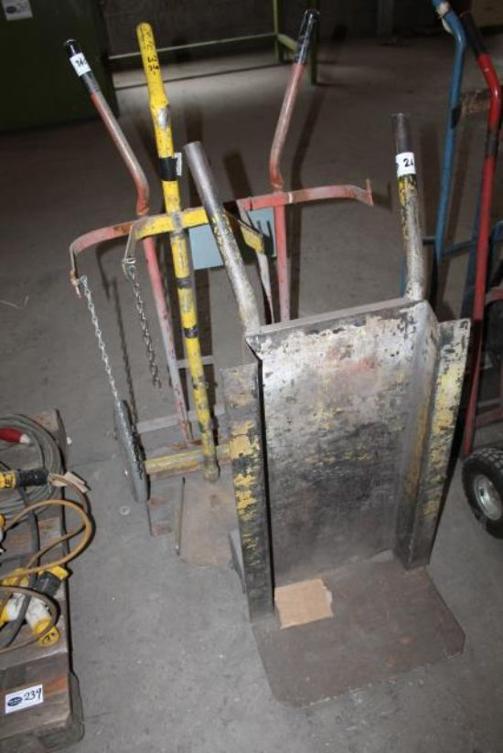 3No. BOTTLE TROLLIES for sale : Machinery-Locator.com