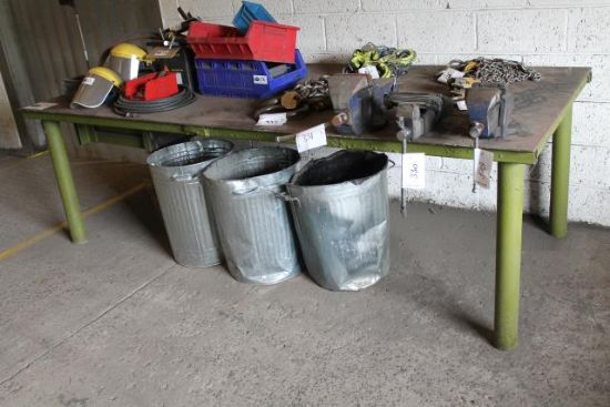 APPROX 9x4 METAL WORK BENCH for sale : Machinery-Locator.com