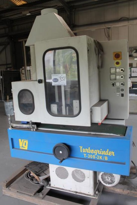 Vangroenweghe T300 2k B 3 Phase Turbo Grinder For Sale