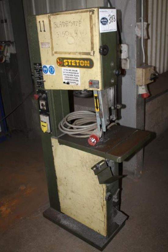3 PHASE STETON PS400 HORIZONTAL BANDSAW for sale : Machinery-Locator.com