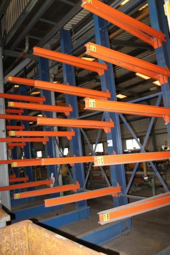4 LEG STEEL STORAGE RACK for sale : Machinery-Locator.com