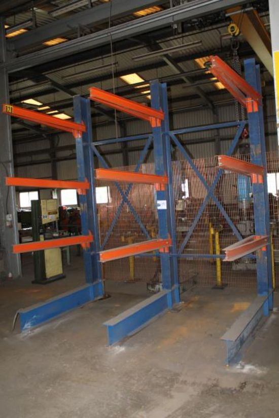 3 LEG STEEL STORAGE RACK for sale : Machinery-Locator.com