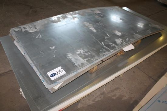 VARIOUS SIZED SHEETS OF STAINLESS STEEL for sale ...