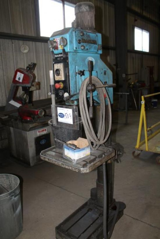 IBARMIA AX-35 3 PHASE PILLAR DRILL for sale : Machinery ...