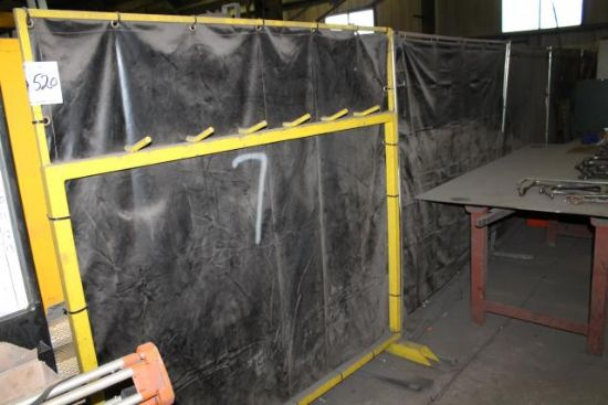 7No. WELDING SCREENS for sale : Machinery-Locator.com